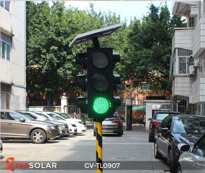 Đèn báo giao thông năng lượng mặt trời GV-TL0907 9