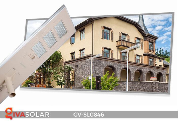 Đèn đường cao cấp năng lượng mặt trời GV-SL0846 1