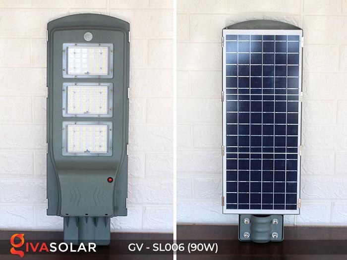 Đèn đường LED chạy năng lượng mặt trời GV-SL006 1