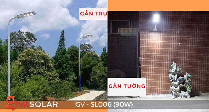 Đèn đường LED chạy năng lượng mặt trời GV-SL006 15