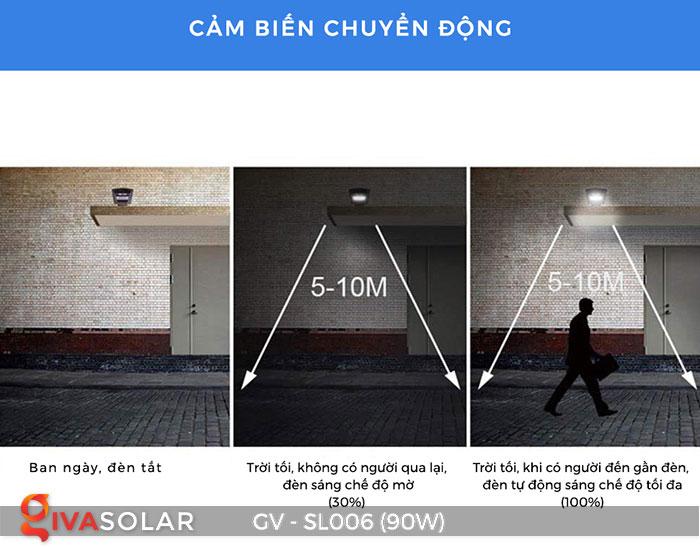 Đèn đường LED chạy năng lượng mặt trời GV-SL006 19