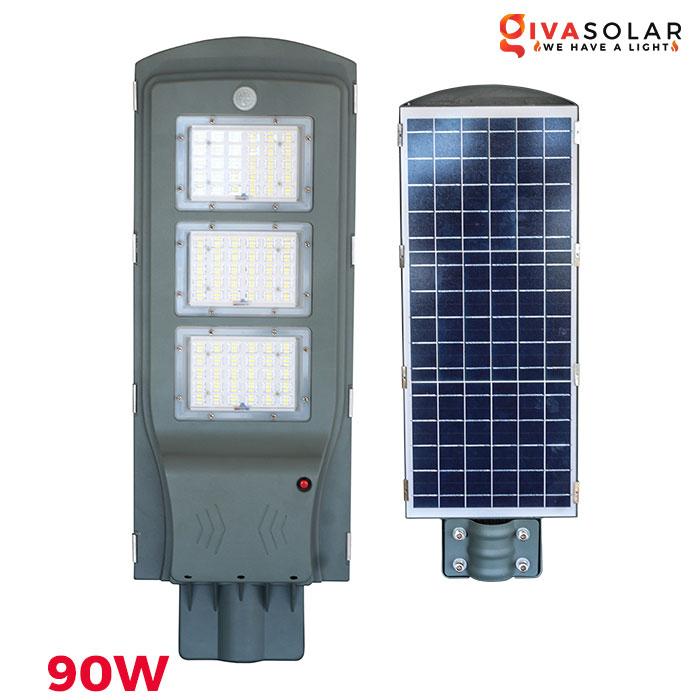 Đèn đường LED chạy năng lượng mặt trời vỏ nhôm GV-SL006