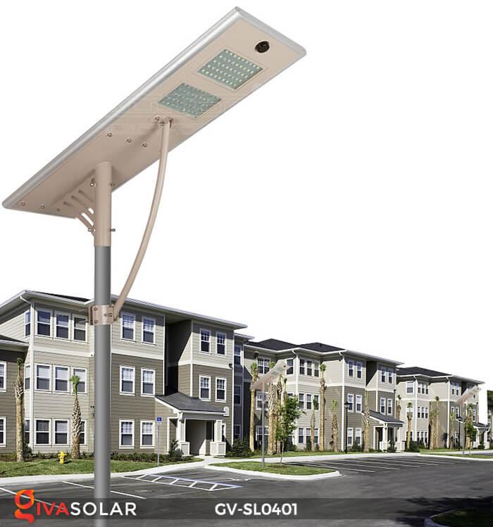 Đèn đường LED năng lượng mặt trời GV-SL0401 1