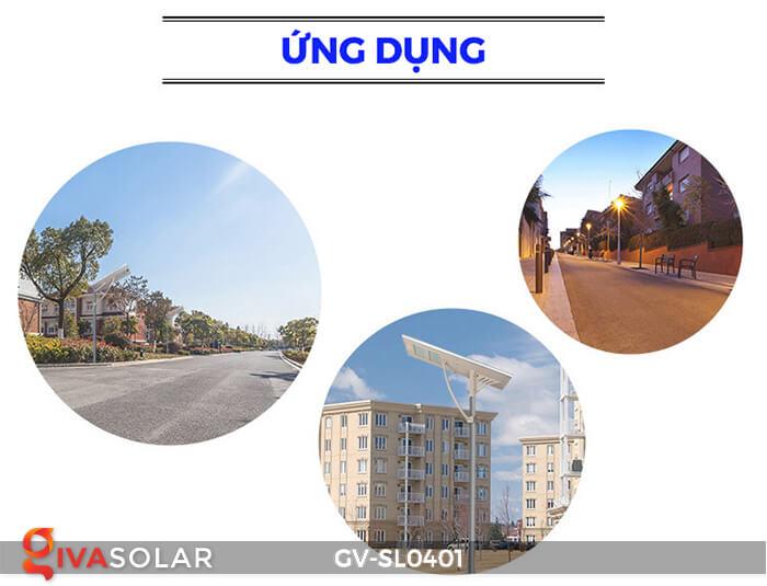 Đèn đường LED năng lượng mặt trời GV-SL0401 14