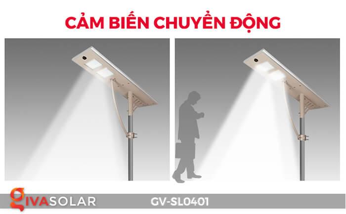 Đèn đường LED năng lượng mặt trời GV-SL0401 8