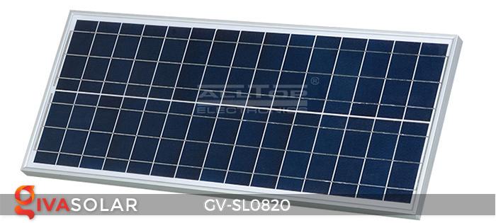 Đèn chiếu sáng đường năng lượng mặt trời GV-SL0820 9