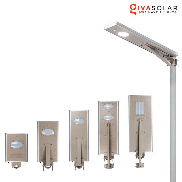 Đèn đường cao cấp năng lượng mặt trời GV-SL0400