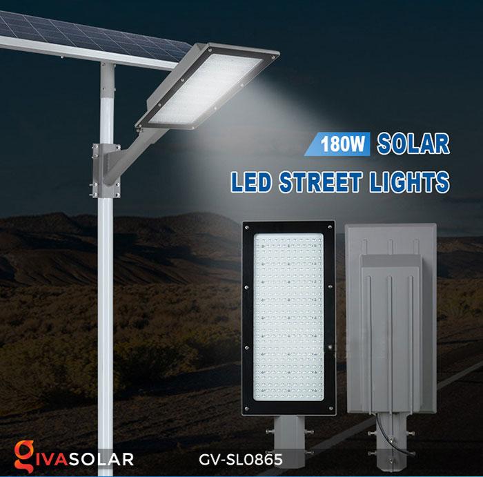 Đèn đường phố năng lượng mặt trời GV-SL0865 1