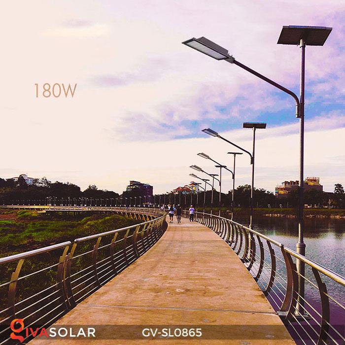 Đèn đường phố năng lượng mặt trời GV-SL0865 2
