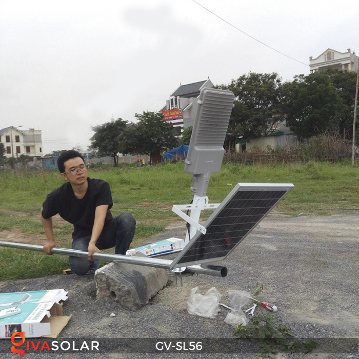 đèn chiếu sáng đường năng lượng mặt trời GV-SL56 22