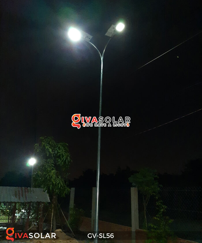 đèn chiếu sáng đường năng lượng mặt trời GV-SL56 24