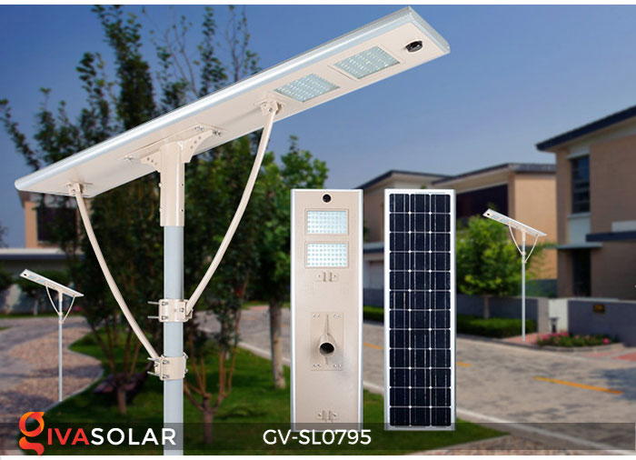 Đèn đường LED chạy năng lượng mặt trời GV-SL0795 2