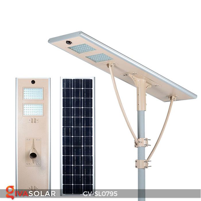 Đèn đường LED chạy năng lượng mặt trời GV-SL0795 4