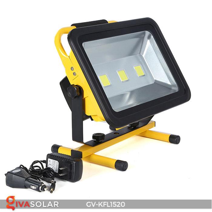 Đèn LED pha sạc công suất lớn GV-KFL1520 1
