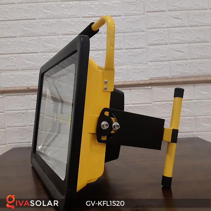 Đèn LED pha sạc công suất lớn GV-KFL1520 10