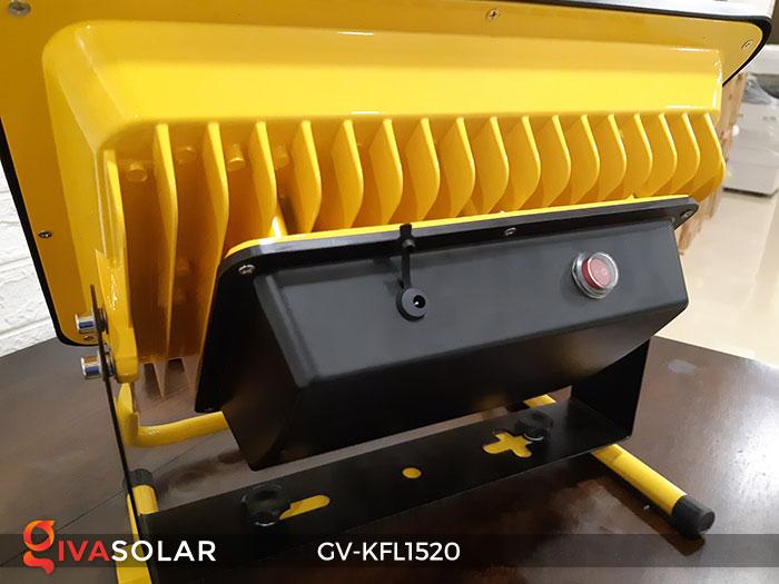 Đèn LED pha sạc công suất lớn GV-KFL1520 16
