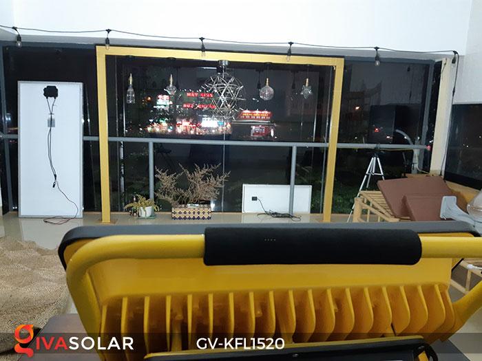 Đèn LED pha sạc công suất lớn GV-KFL1520 20