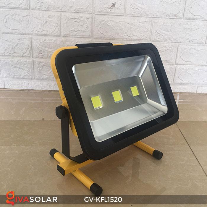 Đèn LED pha sạc công suất lớn GV-KFL1520 3