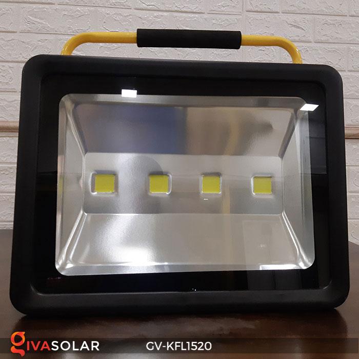 Đèn LED pha sạc công suất lớn GV-KFL1520 8