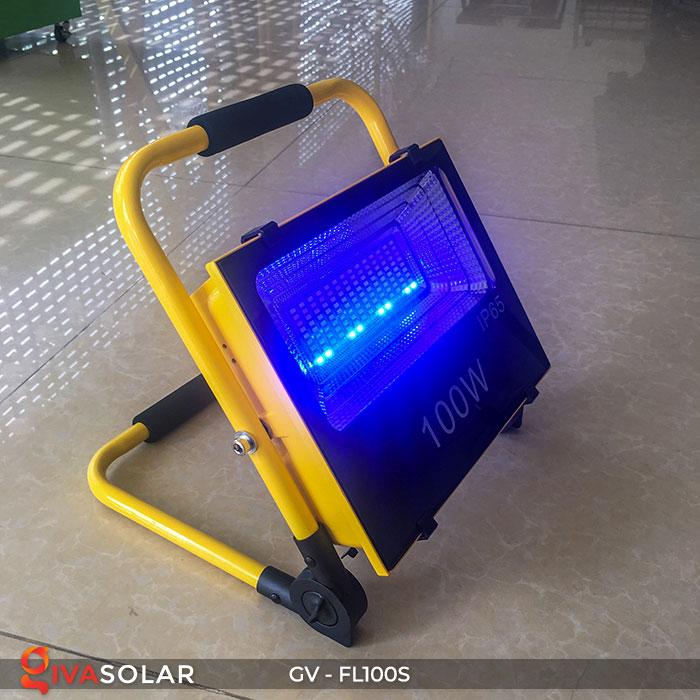Đèn pha đa năng chạy năng lượng mặt trời GV-FL100S 10