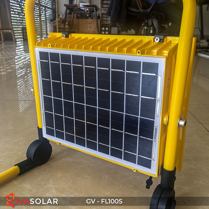 Đèn pha đa năng chạy năng lượng mặt trời GV-FL100S 11