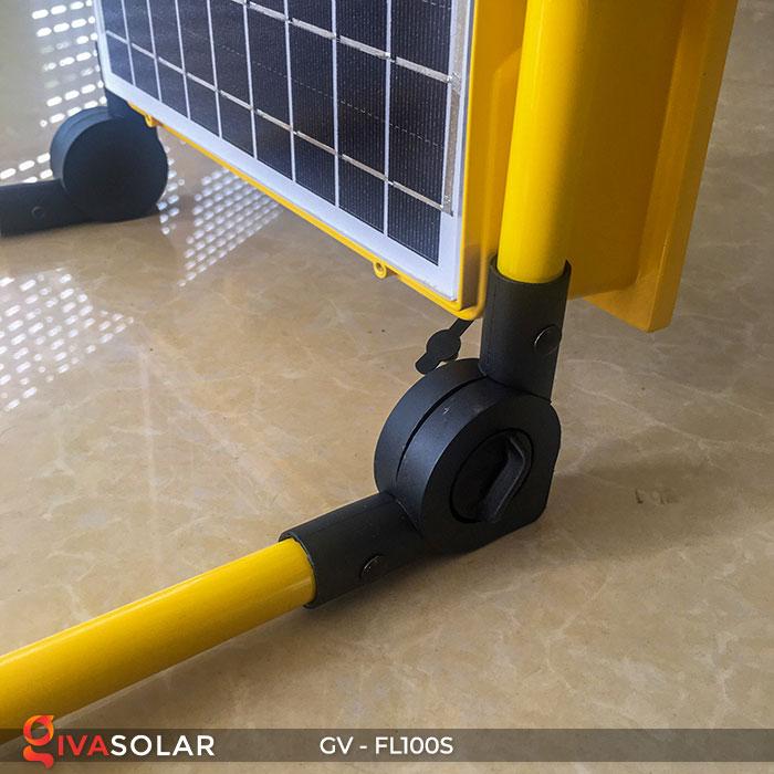 Đèn pha đa năng chạy năng lượng mặt trời GV-FL100S 12