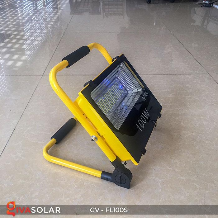 Đèn pha đa năng chạy năng lượng mặt trời GV-FL100S 3