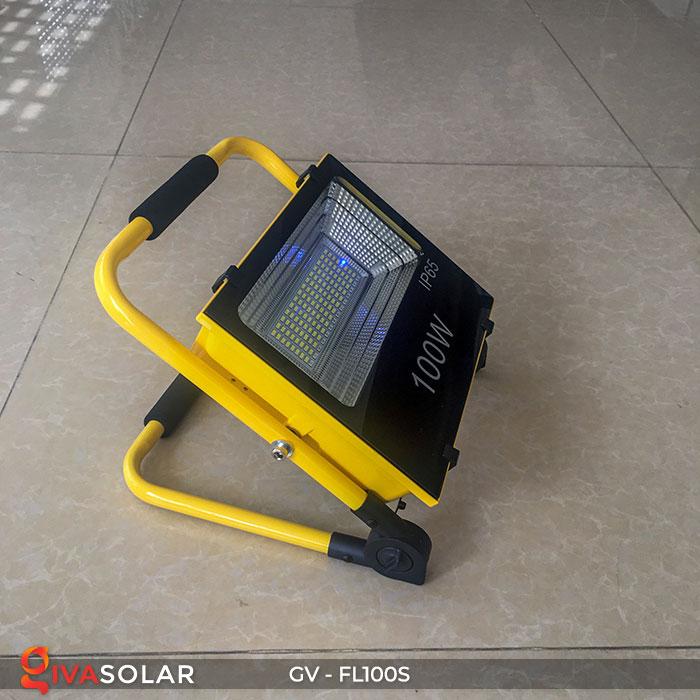 Đèn pha đa năng chạy năng lượng mặt trời GV-FL100S 4