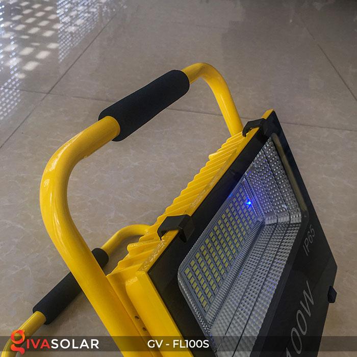 Đèn pha đa năng chạy năng lượng mặt trời GV-FL100S 7