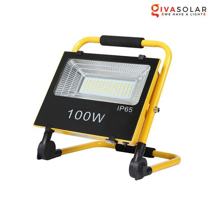 Đèn pha đa năng chạy năng lượng mặt trời GV-FL100S
