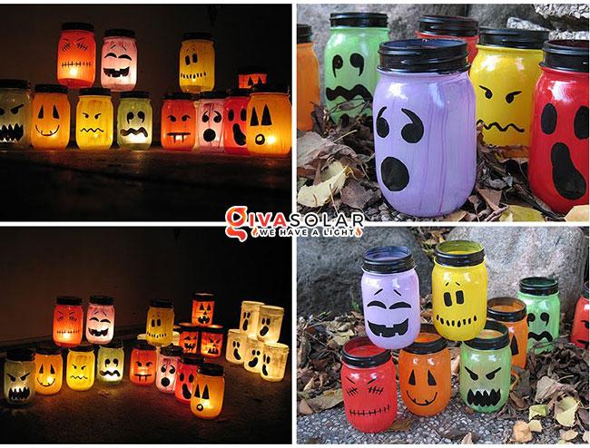 ý tưởng trang trí Halloween ngoài trời 1