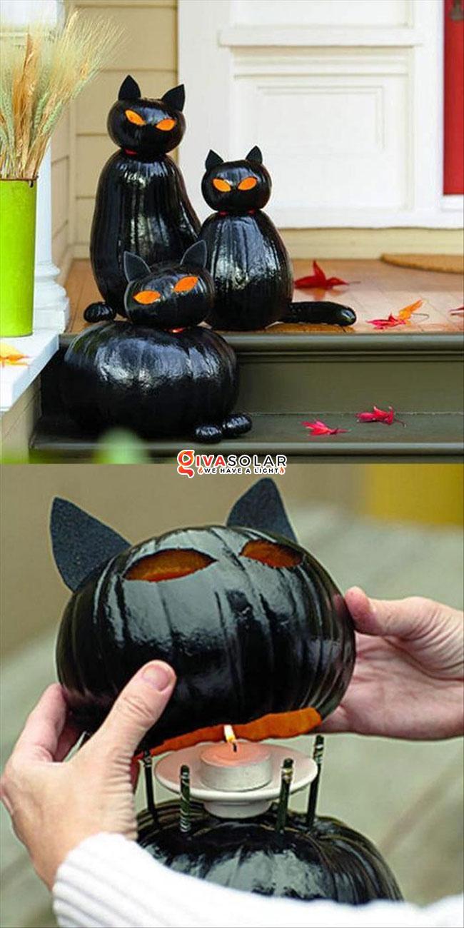 ý tưởng trang trí Halloween ngoài trời 2
