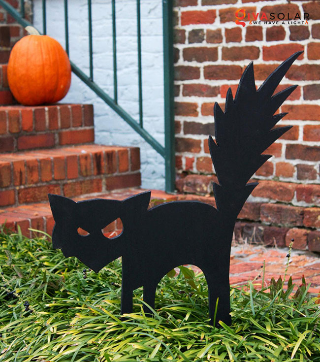 ý tưởng trang trí Halloween ngoài trời 22