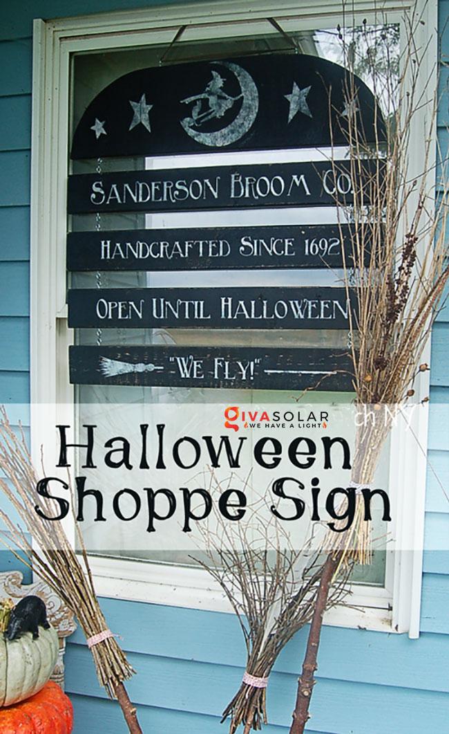 ý tưởng trang trí Halloween ngoài trời 23