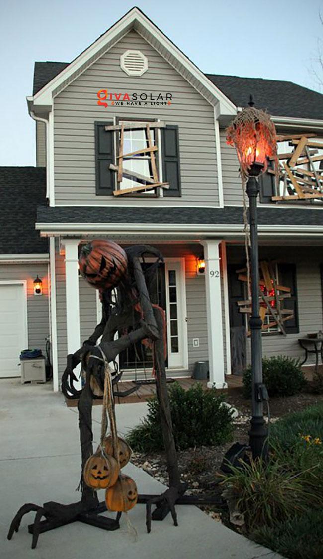 ý tưởng trang trí Halloween ngoài trời 24
