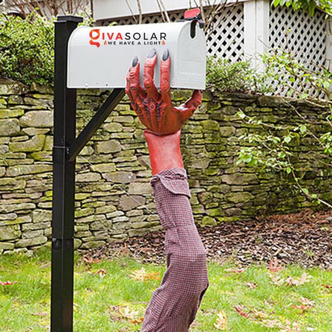 ý tưởng trang trí Halloween ngoài trời 26
