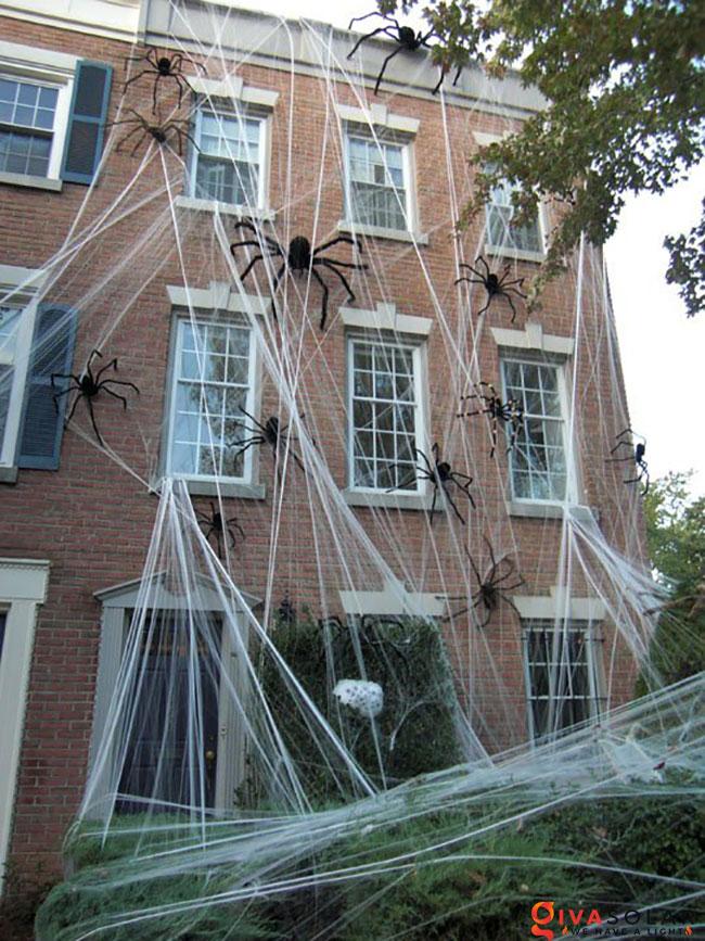 ý tưởng trang trí Halloween ngoài trời 27