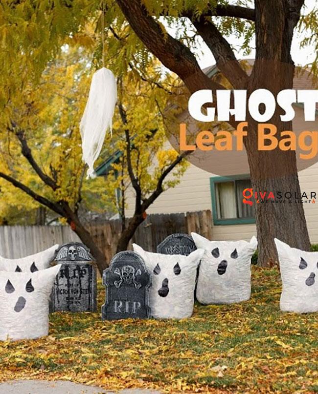 ý tưởng trang trí Halloween ngoài trời 3