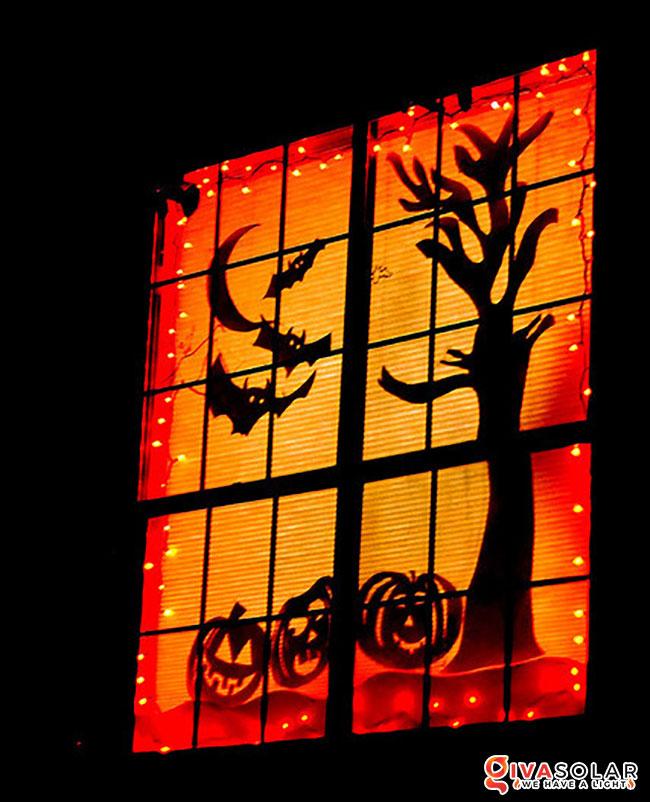 ý tưởng trang trí Halloween ngoài trời 32