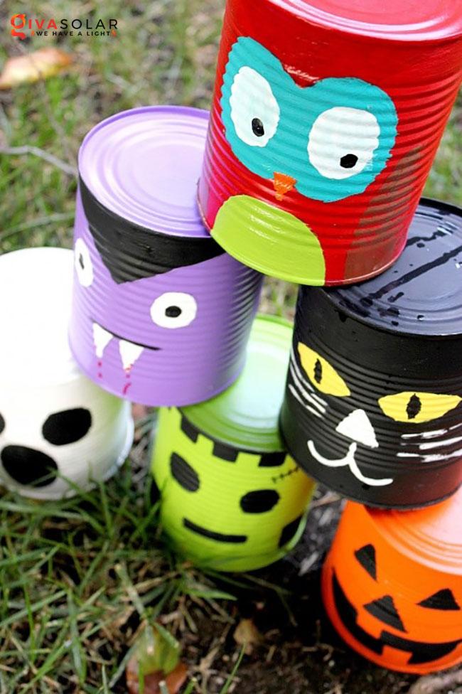 ý tưởng trang trí Halloween ngoài trời 33