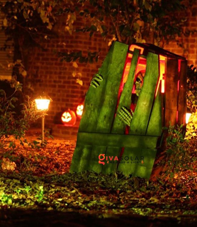 ý tưởng trang trí Halloween ngoài trời 38