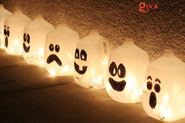 ý tưởng trang trí Halloween ngoài trời 41