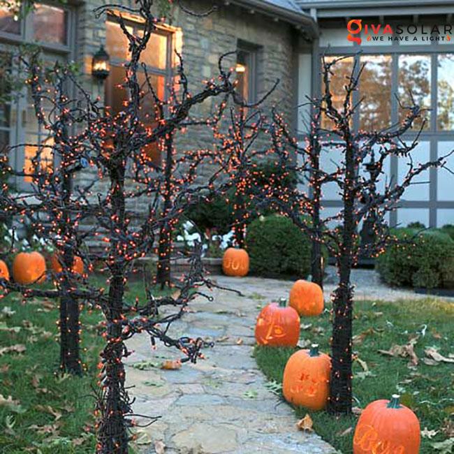 ý tưởng trang trí Halloween ngoài trời 45