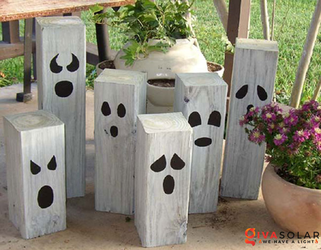 ý tưởng trang trí Halloween ngoài trời 48