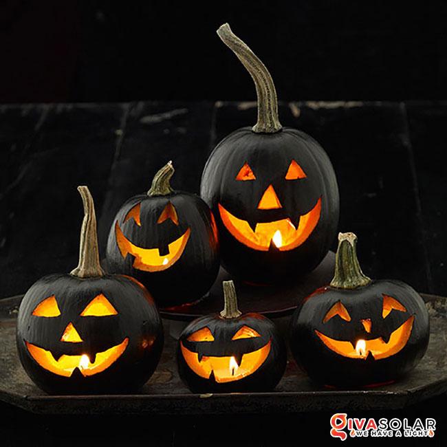 ý tưởng trang trí Halloween ngoài trời 7