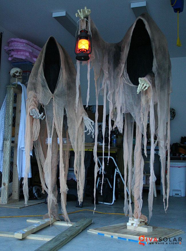 ý tưởng trang trí Halloween ngoài trời 8