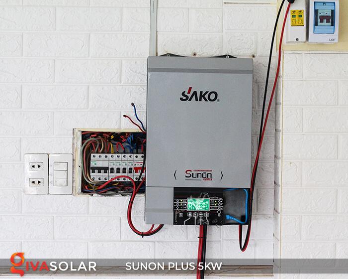 Inverter bám tải SUNON PLUS 5KW/48V 1