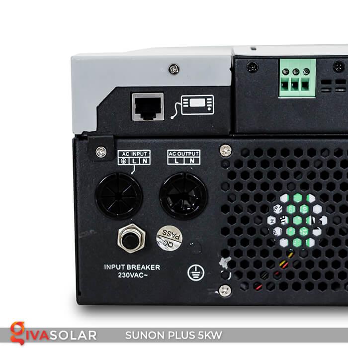 Inverter bám tải SUNON PLUS 5KW/48V 10
