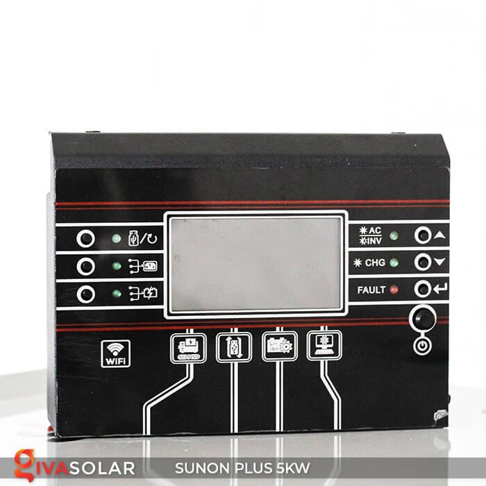 Inverter bám tải SUNON PLUS 5KW/48V 2