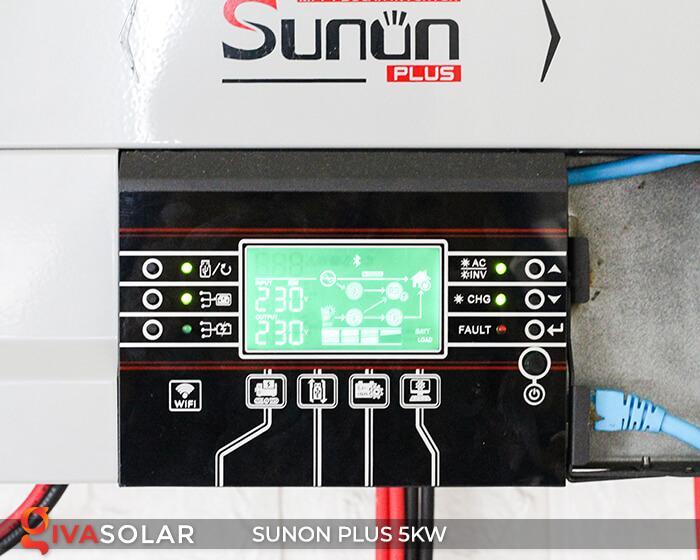 Inverter bám tải SUNON PLUS 5KW/48V 3
